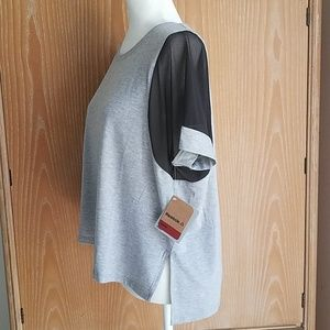 Reebok athletic tee, NWT size M